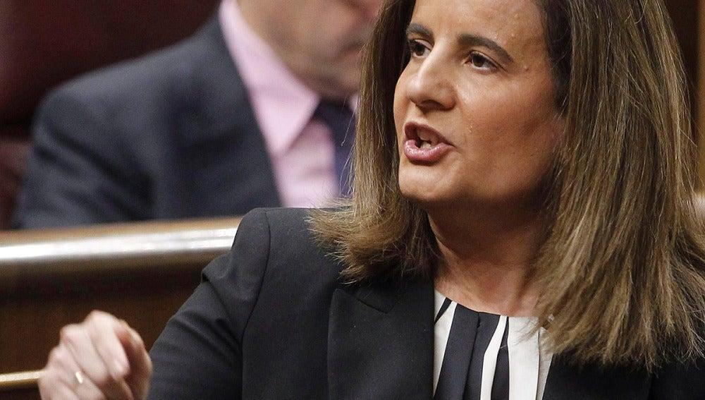La ministra de Empleo, Fámita Báñez.
