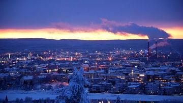 Rovaniemi, en la Laponia  Finlandesa, casa de Papá Noel