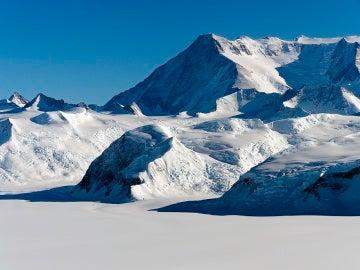 Montañas de la Antártida