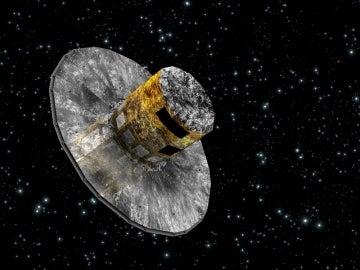 Recreación del satélite Gaia