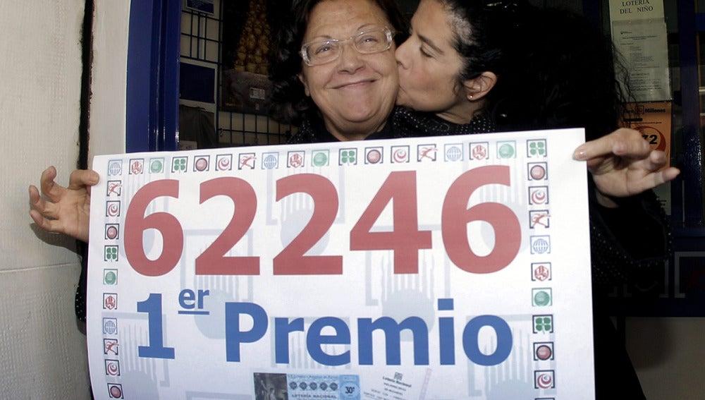 62.246, un 'Gordo' muy repartido por toda España