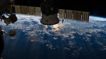 Parte de la Estación Espacial Internacional