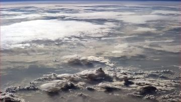 Continente africano desde el espacio