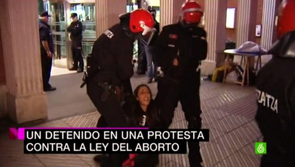 Protestas en Barakaldo