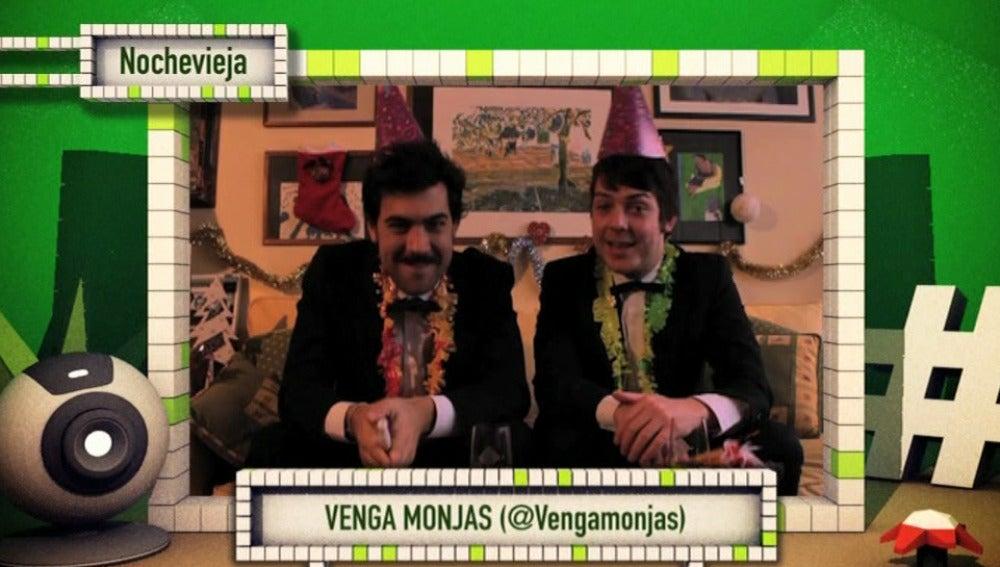 'Venga monjas' en 'Teletubers'