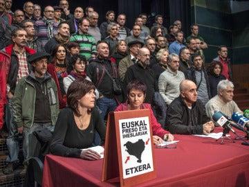 Acto de expresos de ETA en Durango