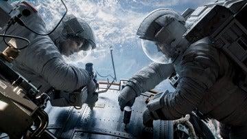 Fotograma de la película Gravity
