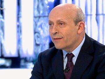 El ministro de Educación José Ignacio Wert en 'El Objetivo'