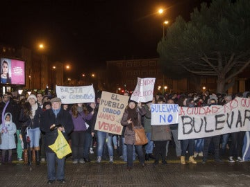 Los vecinos de Gamonal protestan por el Bulevar