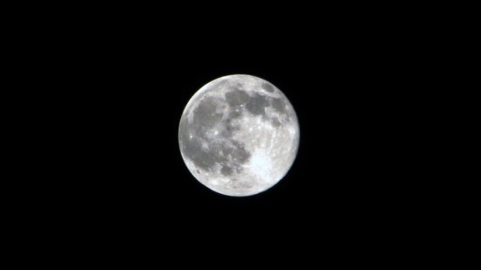 Imagen de la luna llena
