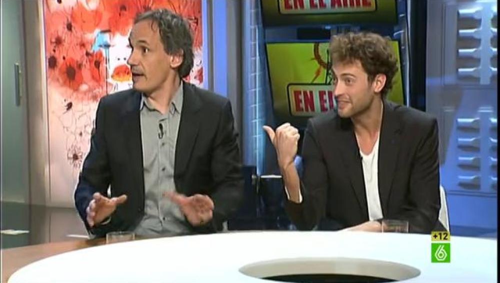 Francesc Garrido y Peter Vives