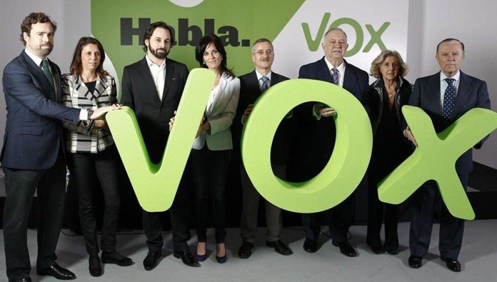 Ortega Lara presenta VOX, su nuevo partido.