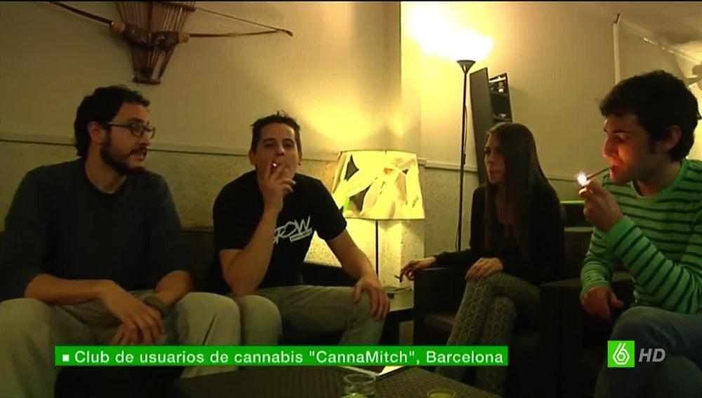 Club de fumadores de marihuana