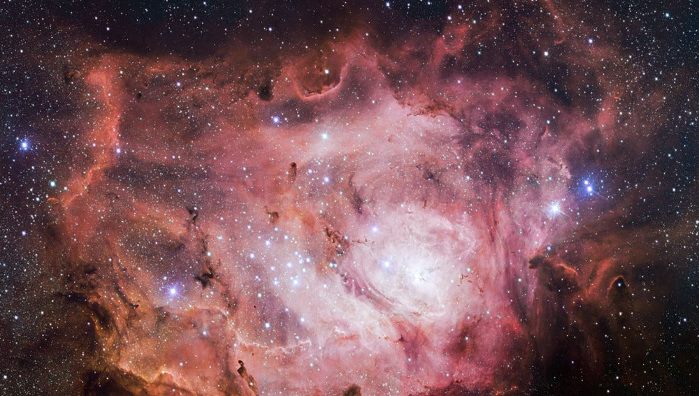 El VST ha captado esta nueva imagen de la Nebulosa de la Laguna.