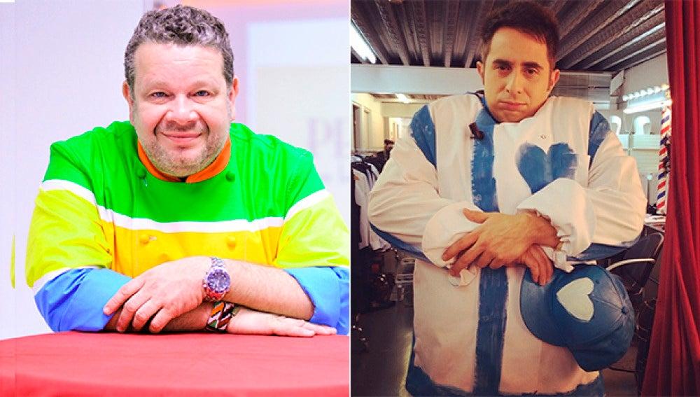 Alberto Chicote y Berto Chicote, cara a cara