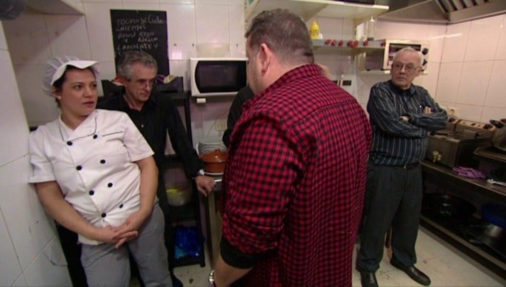 La cocinera elogia a Alberto Chicote