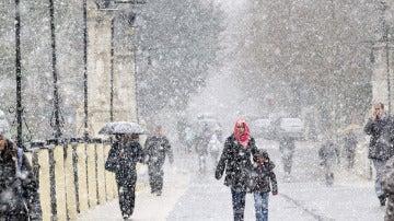 Nieve en Teruel