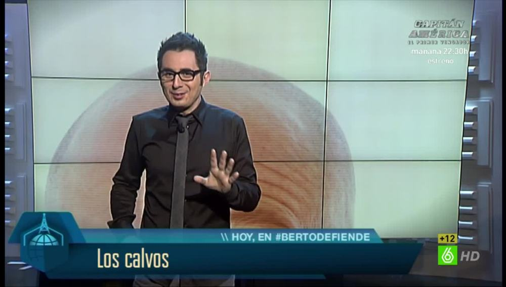 Los calvos, según Berto Romero