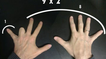 La tabla del 9, enseñada de forma diferente