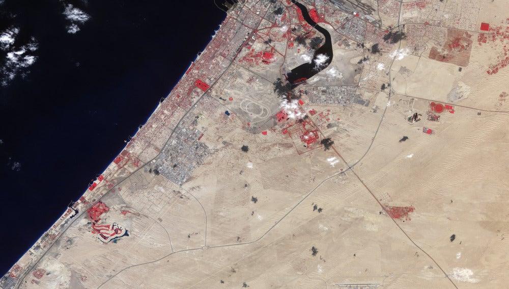 Urbanismo en Dubai