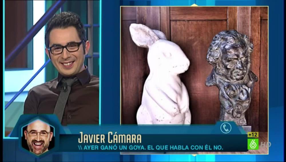 """""""El conejo y el Goya se han hecho amigos"""""""