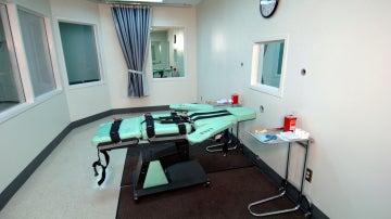 Sala de ejecución de la prisión de San Quintín