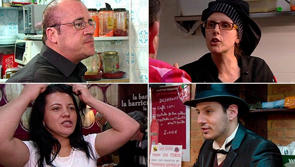 Los personajes de 'Pesadilla en la cocina'