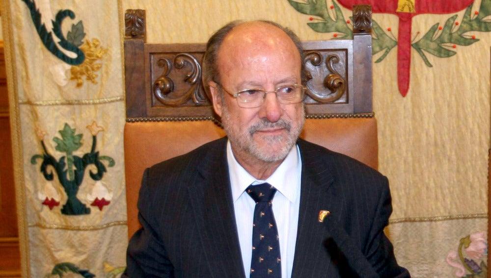 El alcalde de Valladolid, Francisco Javier León de la Riva