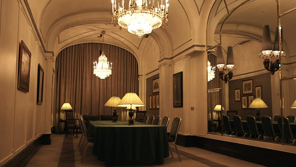 Sala del Hotel Palace en Madrid