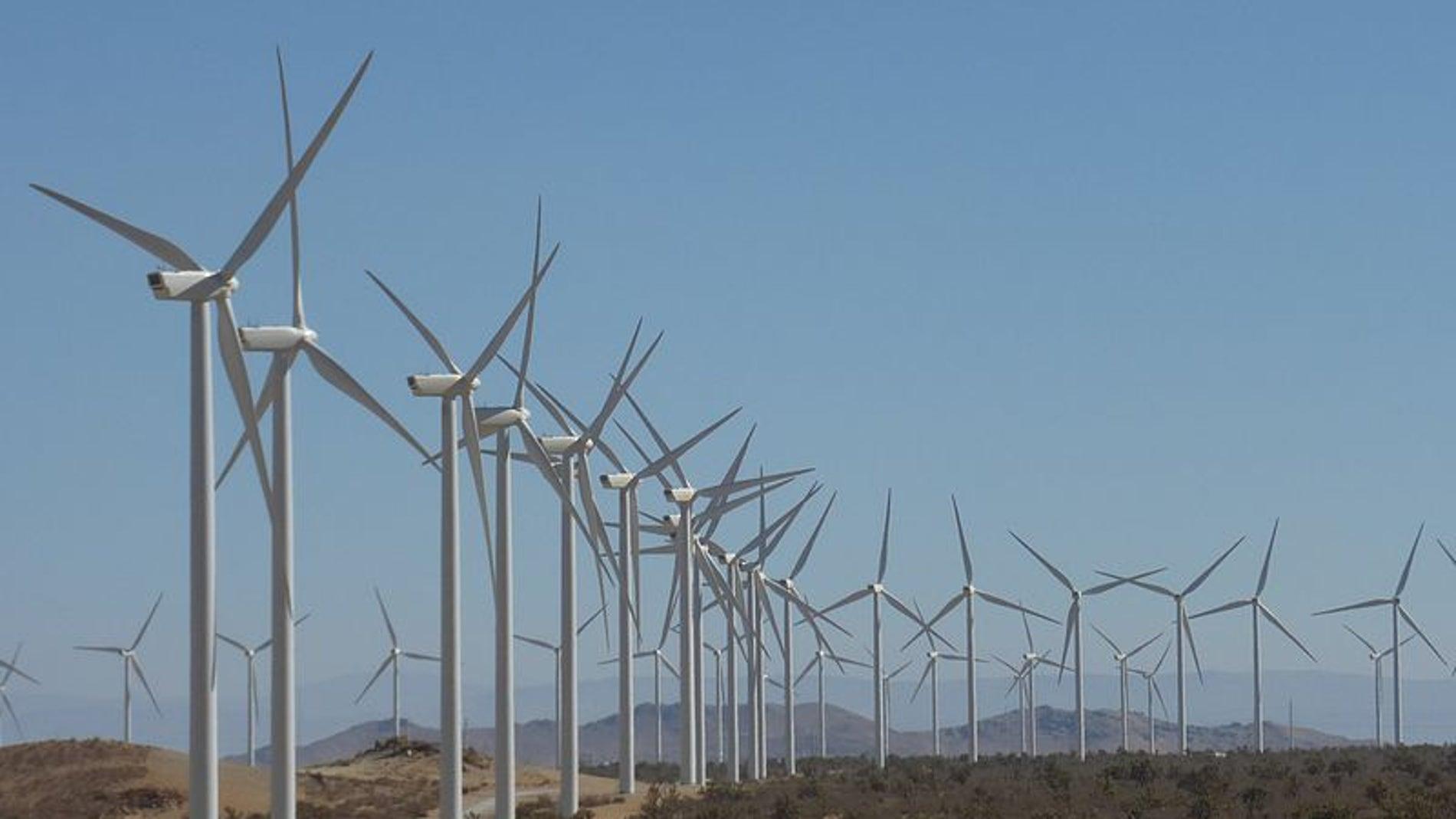 Parque eólico Alta Wind Energy Center, California