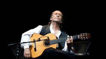 El guitarrista Paco de Lucía (Archivo)