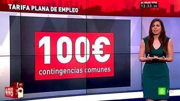 Inés García explica la tarifa plana de la Seguridad social