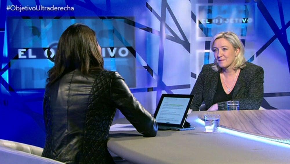 Entrevista a Marine Le Pen 1