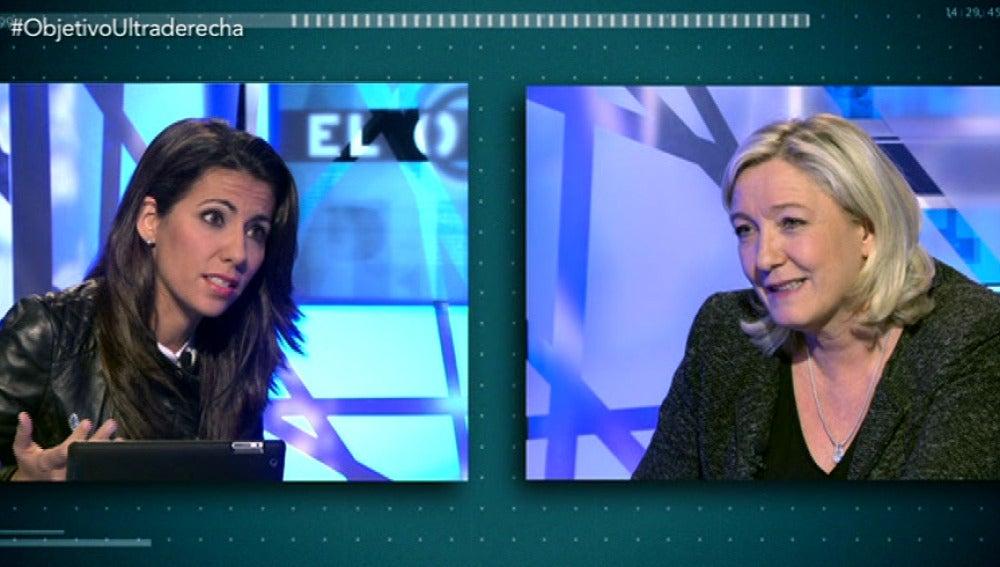Entrevista a Marine Le Pen 2