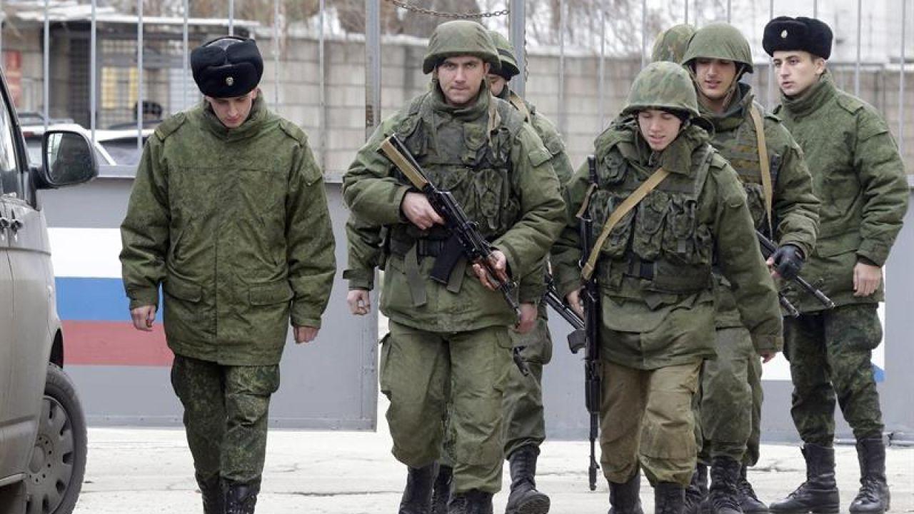 Varios militares rusos en una imagen de archivo