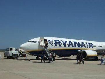 Avión de la compañía Ryanair