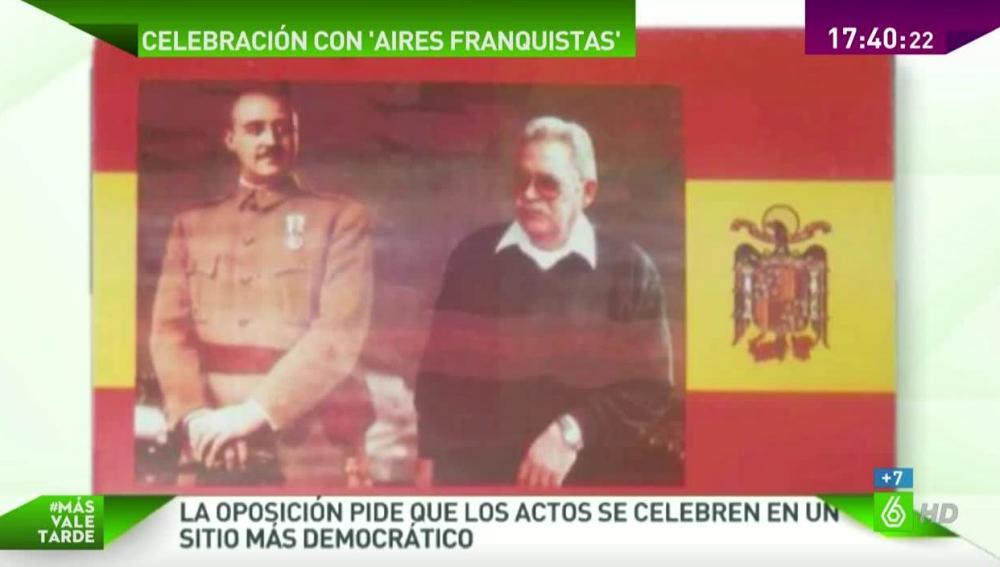 El ayuntamiento de Pelayos celebra el día de la mujer en un restaurante franquista