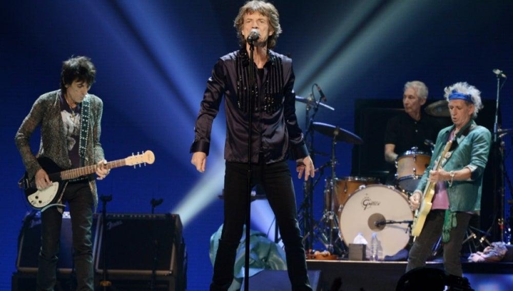 Los Rolling Stones en uno de sus últimos conciertos
