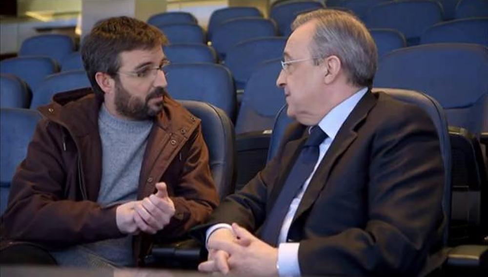 Évole negocia con Florentino Pérez