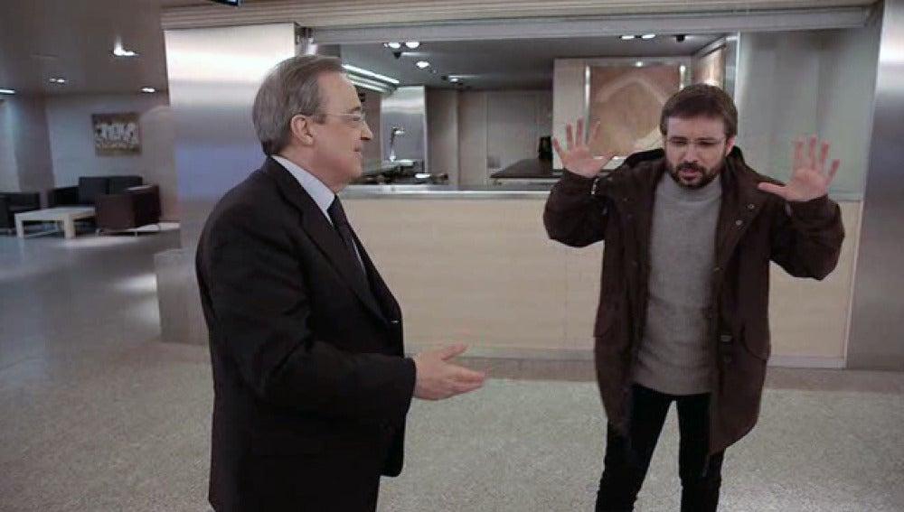Jordi Évole entrevista a Florentino Pérez