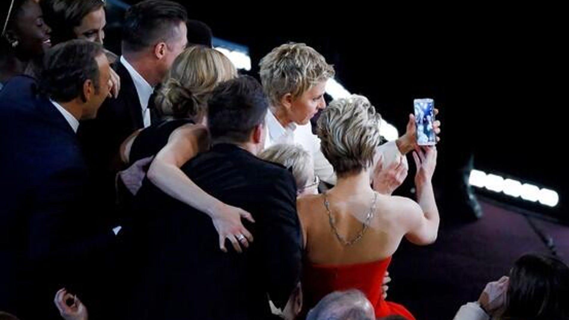 Momento antes del selfie