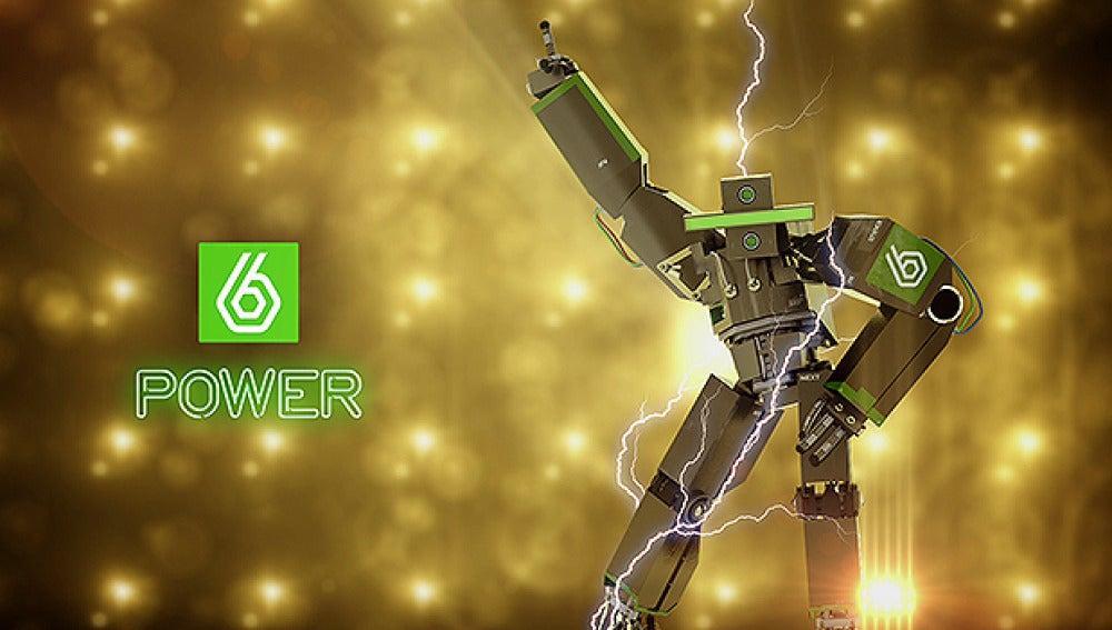 El robot de laSexta en accion