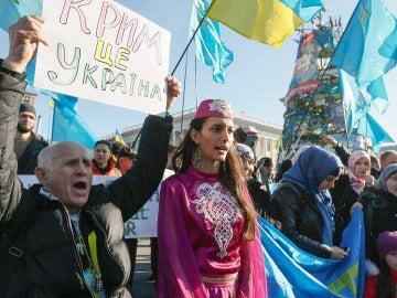 Manifestaciones Kiev