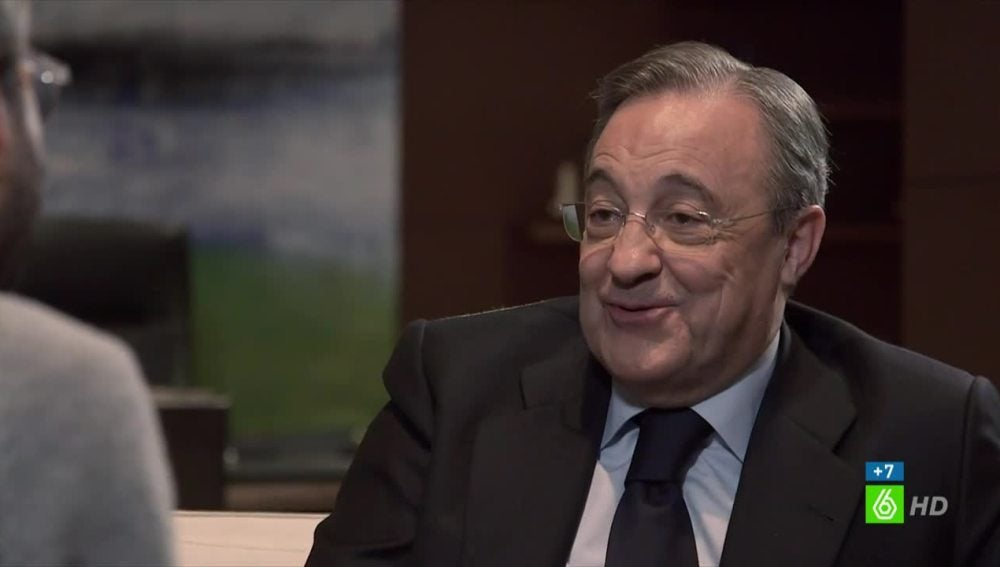 Florentino Pérez frente a Jordi Évole