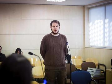 Rapero Pablo Hasél ante el juez