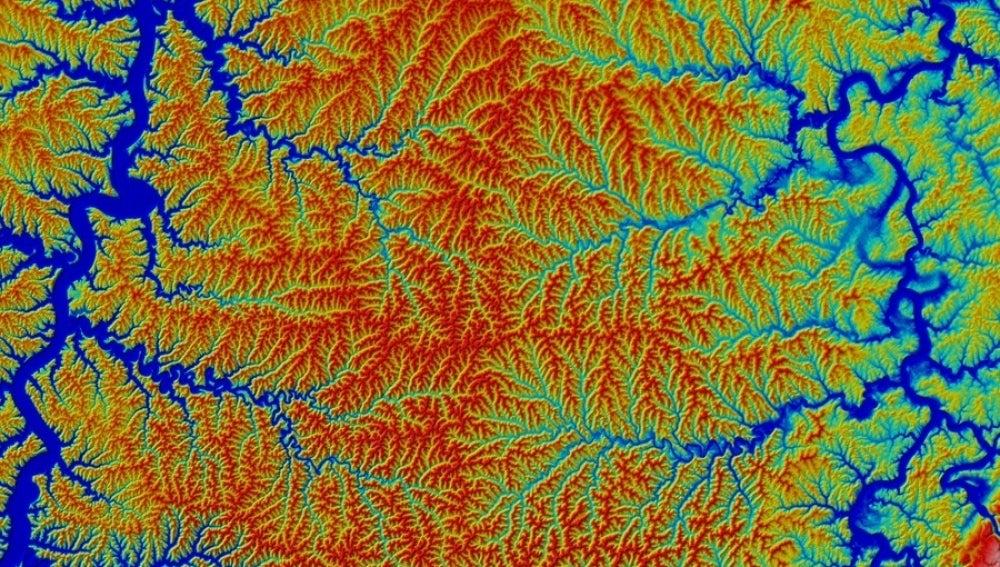 Orografía de los ríos