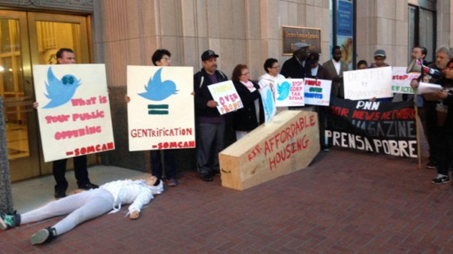 El trato de favor a Twitter cabrea a los habitantes de San Francisco