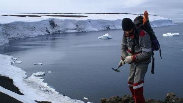 Geólogo en el Ártico