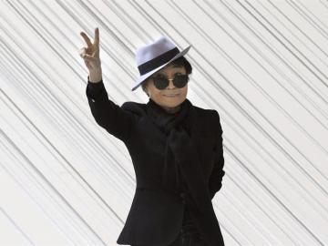 Yoko Ono en Bilbao