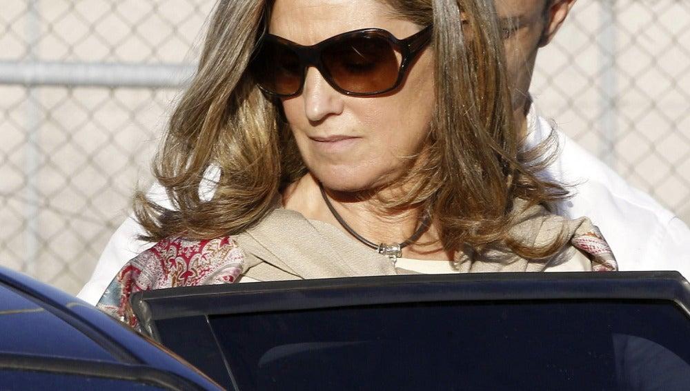 La mujer del extesorero del PP Luis Bárcenas, Rosalia Iglesias.